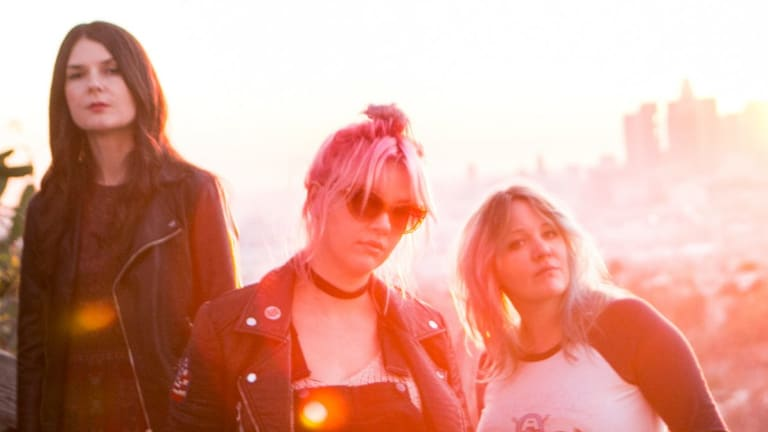 Bleached's latest album, <i>Welcome The Worms</i>, is influenced by '70s hard rock.