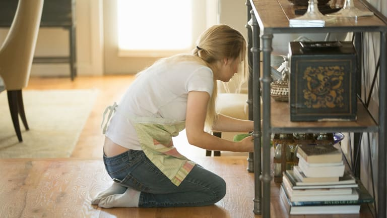 There's been a huge gap in information about who has done the housework for 10 years.