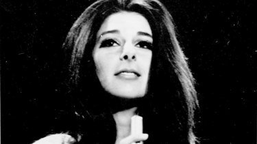 Enigmatic: Bobbie Gentry in 1968 before she disappeared from public view.