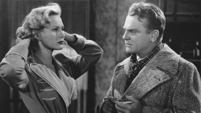 Virginia Mayo and James Cagney in <i>White Heat</i>.