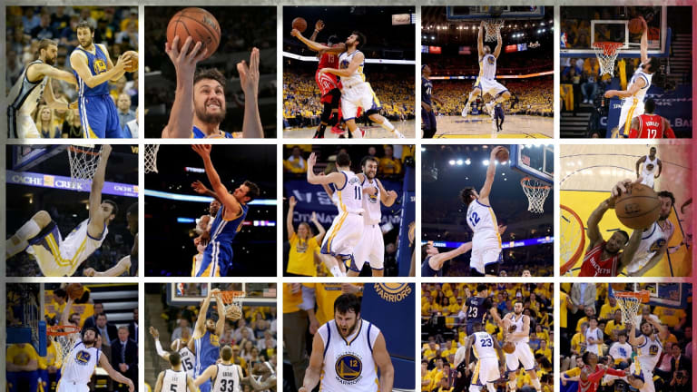 Andrew Bogut's NBA Playoffs adventure.