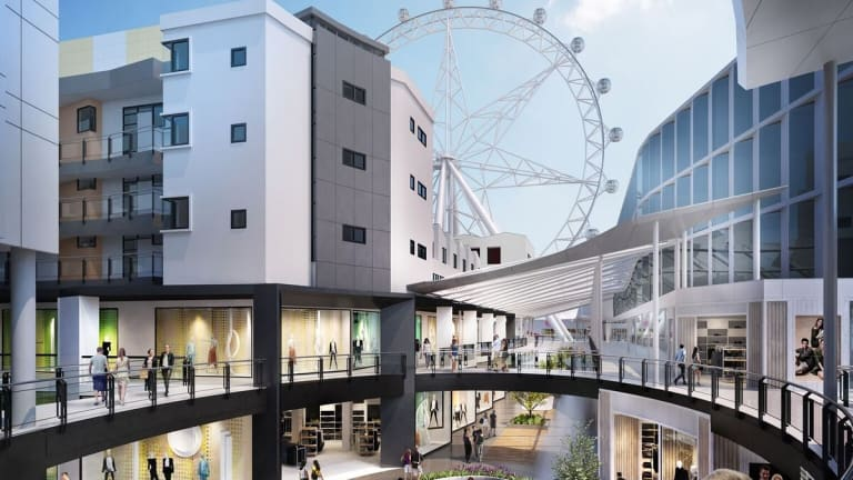 Artist's impressions of $150 million Harbour Town revamp.