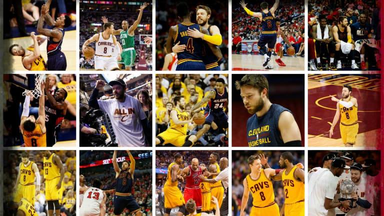Matthew Dellavedova's NBA Playoffs adventure.