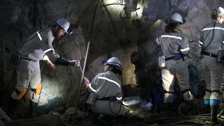 A team led by Princeton's Tullis Onstott looking for life-forms that could give insights to possible life elsewhere in the solar system in the Beatrix mine in South Africa.