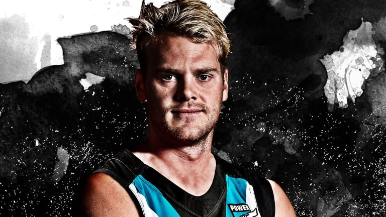 Jack Watts in his new colours.