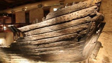 The hull of the Batavia.
