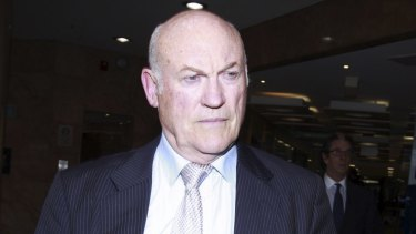 Prosecuted for misconduct: Ian MacDonald.