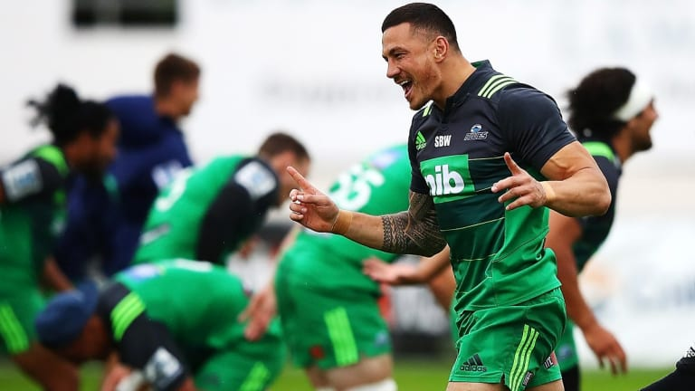 Causing a stir: Sonny Bill Williams.