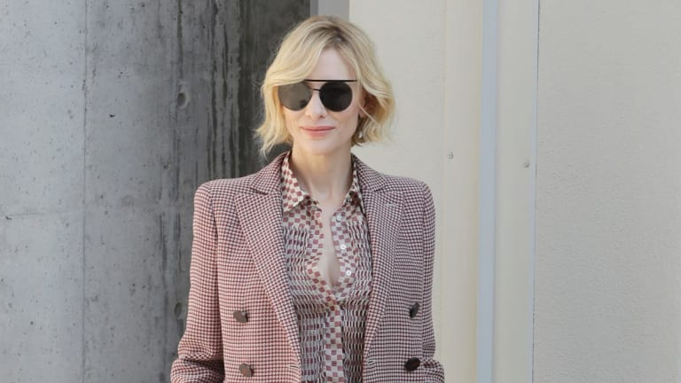 Actor Cate Blanchett, who was honoured last year, is great, but did she need another award?