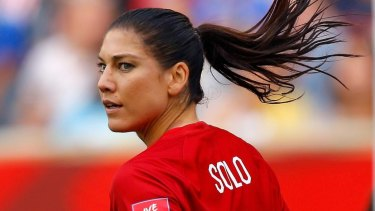 c199b6238 Hope Solo suspended from US soccer team in wake of  cowards  comment ...
