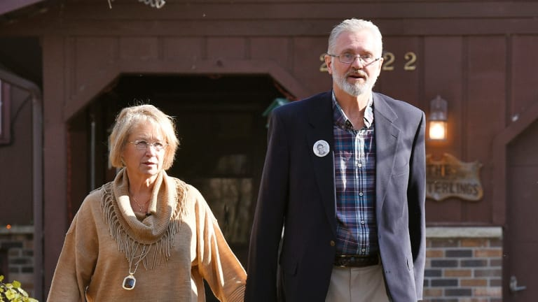 """Patty and Jerry Wetterling told reporters via text message that """"Our hearts are broken""""."""