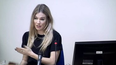 Sienna Miller spoke passionately at the Leveson Inquiry into the British phone-tapping scandal.