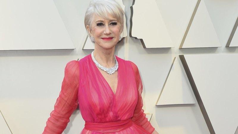 Oscars 2019 red carpet gallery: Helen Mirren's pink dress