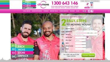 The CityMove website.