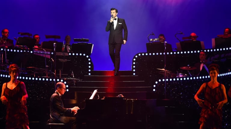 David Campbell as Bobby Darin.