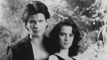 Christian Slater and Winona Ryder star in <i>Heathers</I>.