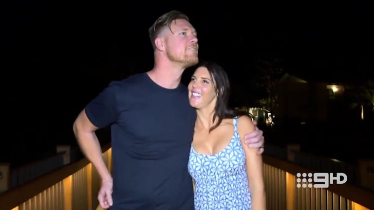 'You're a big melon person': Dean sees Tracey's deeper side.