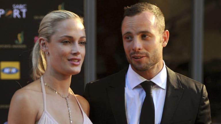 Oscar Pistorius and Reeva Steenkamp in 2012.