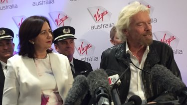 In the recent past Virgin began work with the University of Queensland to explore using sugar cane to develop an aviation fuel.