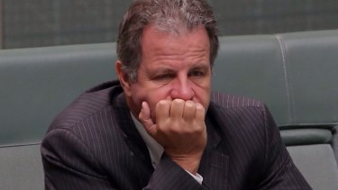 Dumped  MP Dennis Jensen has lashed out at the Liberal Party.