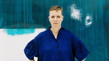German artist Katharina Grosse.