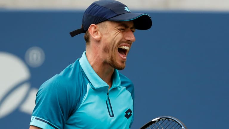 Brisbane local John Millman has booked a spot against top seed and defending champion Grigor Dimitrov.