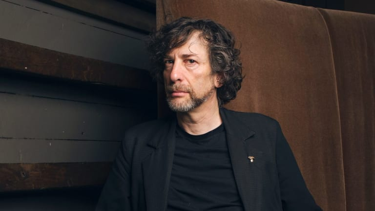 English author Neil Gaiman.