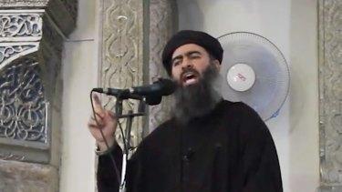 Abu Bakr al-Baghdadi, the self-styled leader of Islamic State.