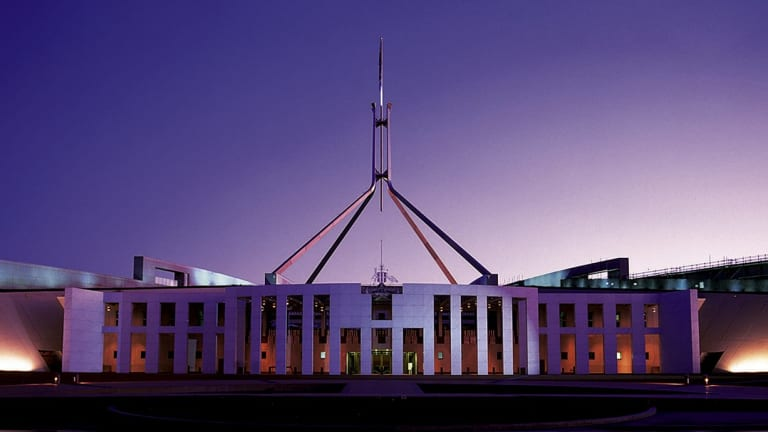 Childcare services at Parliament House are under threat.