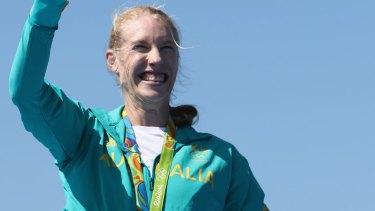 Gold medal winner Kim Brennan.