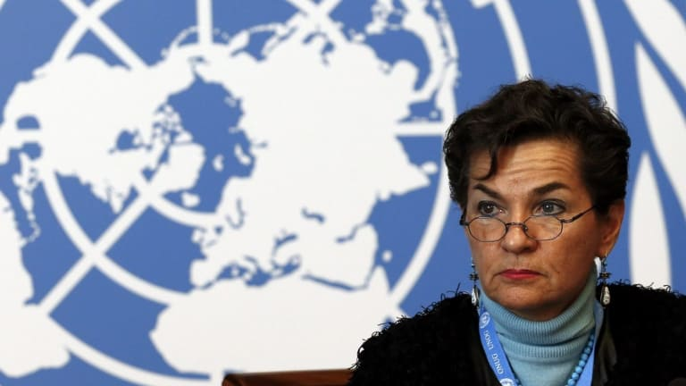Christiana Figueres, Executive Secretary of the United Nations Framework Convention on Climate Change (UNFCCC).