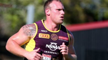 Long, hard road: Matt Lodge will not be forced by the NRL to pay damages on the basis that the governing body will not interfere in a civil matter.