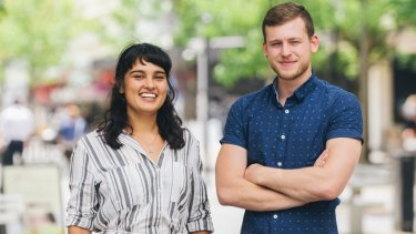 Vanessa Brettell and Tom Navakas who are heading to Colombia to open a not-for-profit cafe dedicated to building menus around local produce and training locals in hospitality and management.