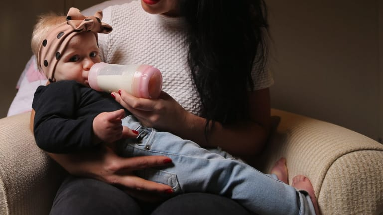 Demand in China for Australian infant formula has surged in the past year.