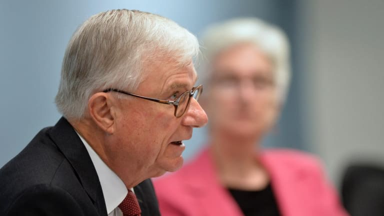 Chair of the royal commission, Justice Peter McClellan.