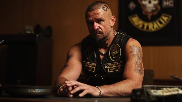 Matt Nable as gang leader Knuck in 1%.
