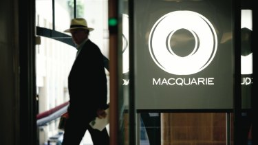 Macquarie Bank declined to comment.