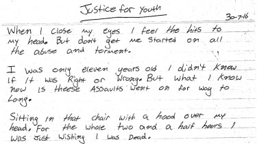 An excerpt of one of the poems penned by Dylan Voller published by <em>Honi Soit</em>.