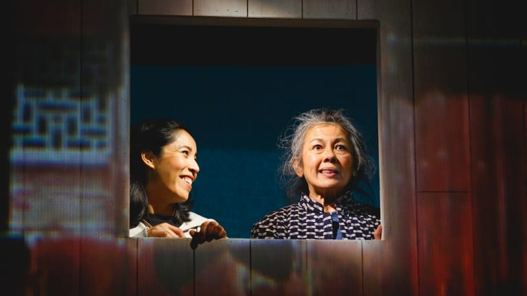 A Ghost in My Suitcase is a warm-hearted show about cultural inheritance and releasing the ghosts of the past.