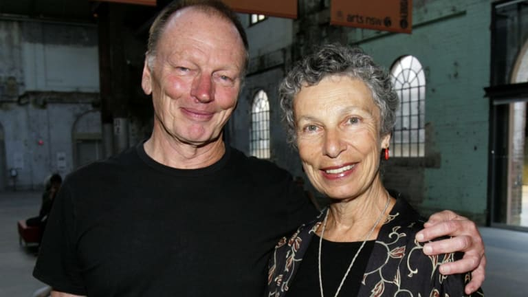 Bell and his wife Anna Volska, together for 53 years.