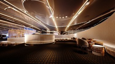 Bond nightclub with its $5 million fitout targets a well-heeled clientele.