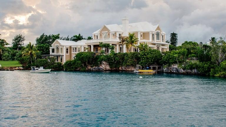 Reg Grundy's Bermuda estate.