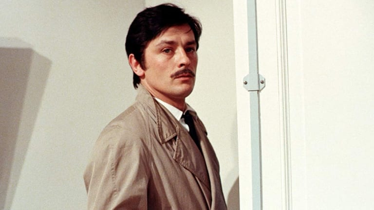 Alain Delon in The Red Cricle.