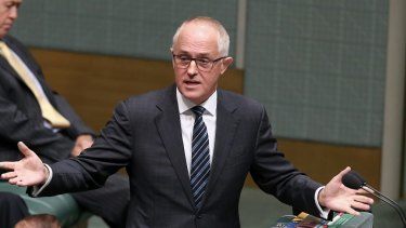 Supports a conscience vote: Malcolm Turnbull.