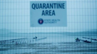 The Kettering Incident: Radioactivity detected after oyster industry destroyed.