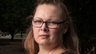Registered nurse Janette Suffield has received a notice to repay Centrelink $2350.