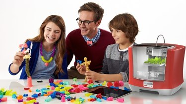 Mattel's new ThingMaker 3D toy printer.