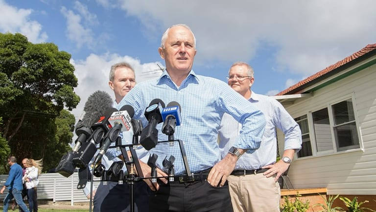 Prime Minister Malcolm Turnbull and Treasurer Scott Morrison announce there will be no change to negative gearing.