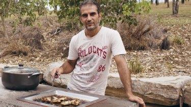 """It's very, very good"": Ara Makrdich, from Baghdad."