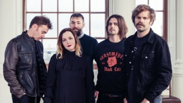 """""""I never thought shoegaze would endure at all,"""" says Rachel Goswell, who is co-lead singer with Slowdive."""